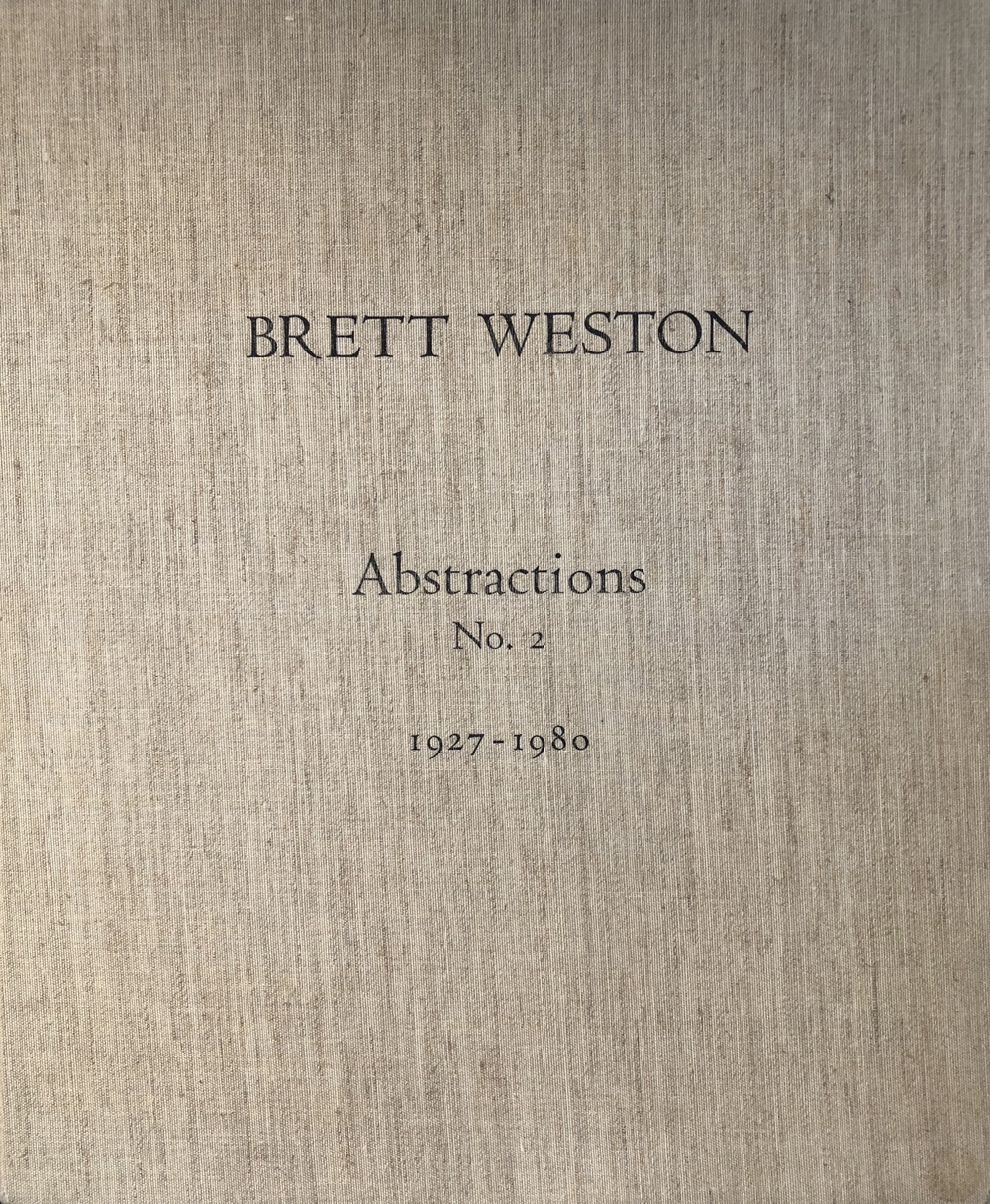 Brett Weston, Abstractions No. 2 portfolio, 1927-1980, 20 gelatin silver prints, signed by artist, price on request