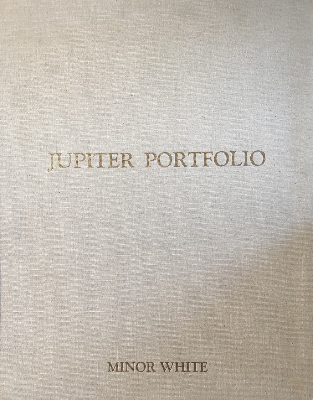Minor White, Jupiter Portfolio, 1975, 12 gelatin silver prints, signed by artist, price on request