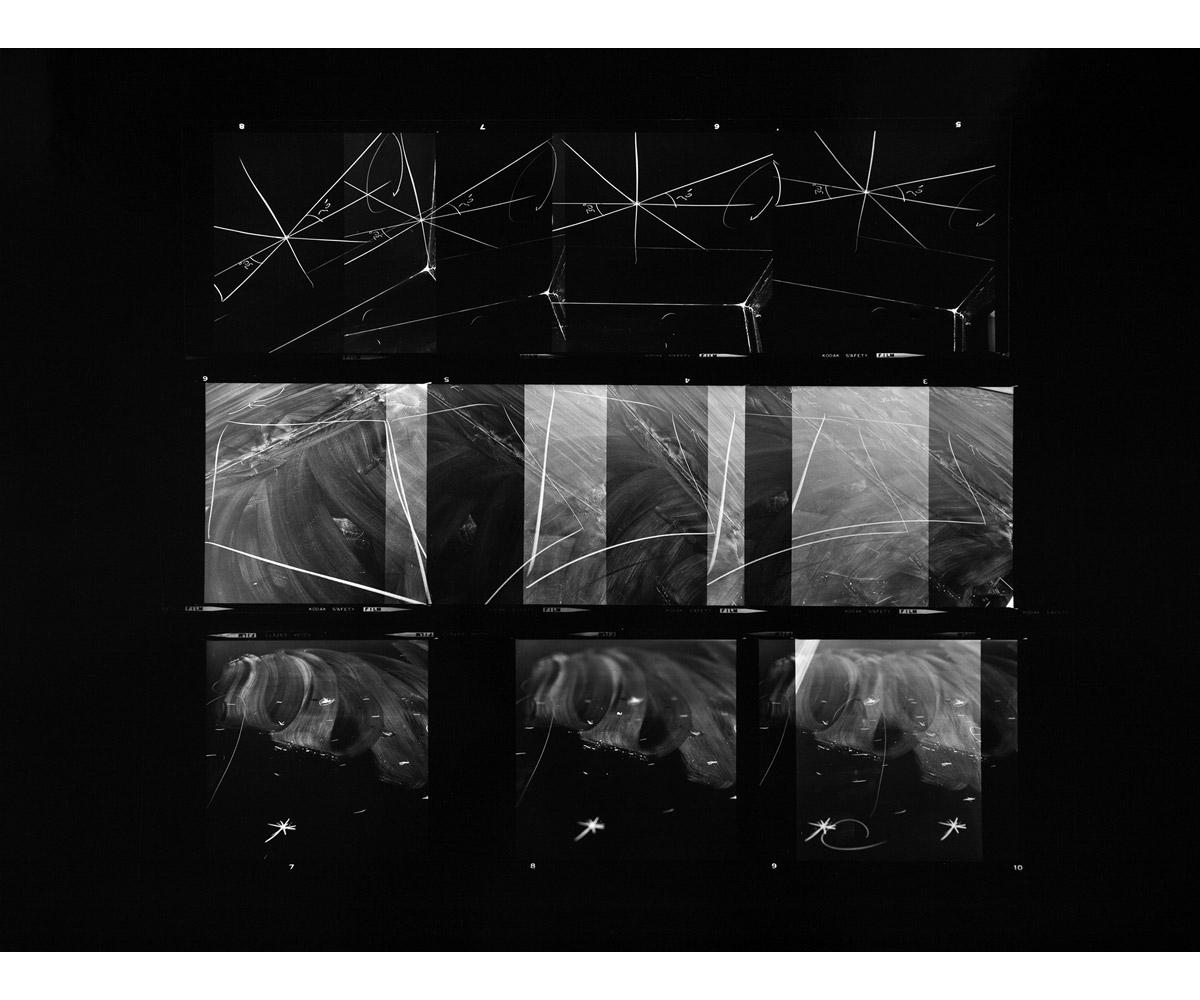 Paul Berger, Mathematics #01, 1976-77, gelatin silver print