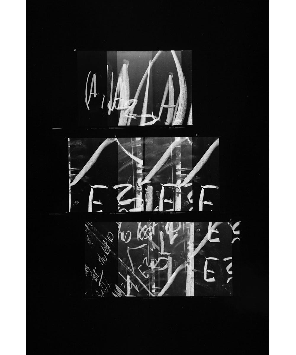 Paul Berger, Mathematics #03, 1976-77, gelatin silver print