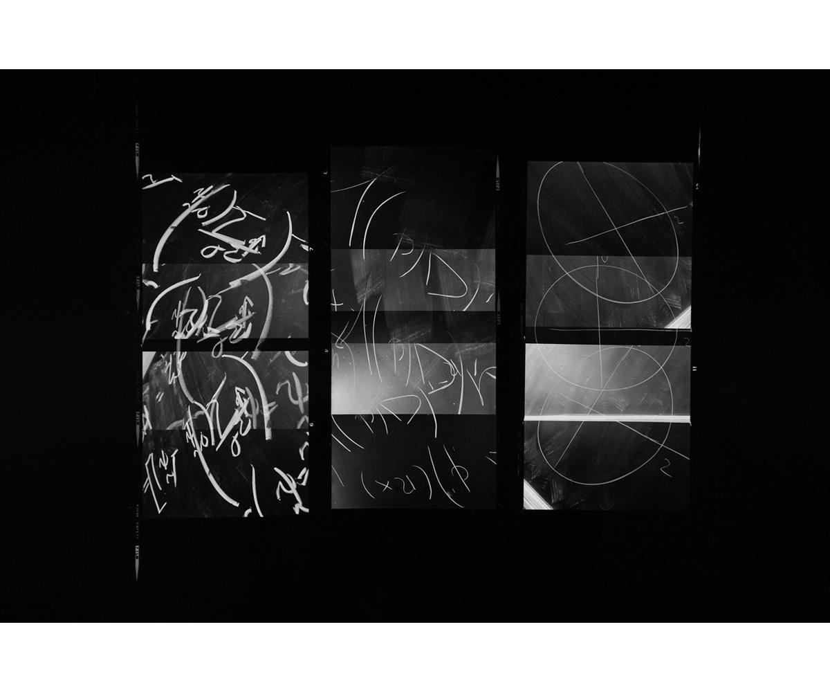 Paul Berger, Mathematics #05, 1976-77, gelatin silver print