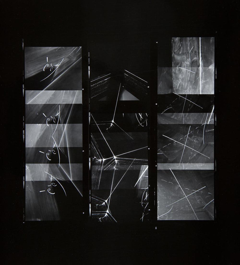 Paul Berger, Mathematics #06, 1976-77, gelatin silver print