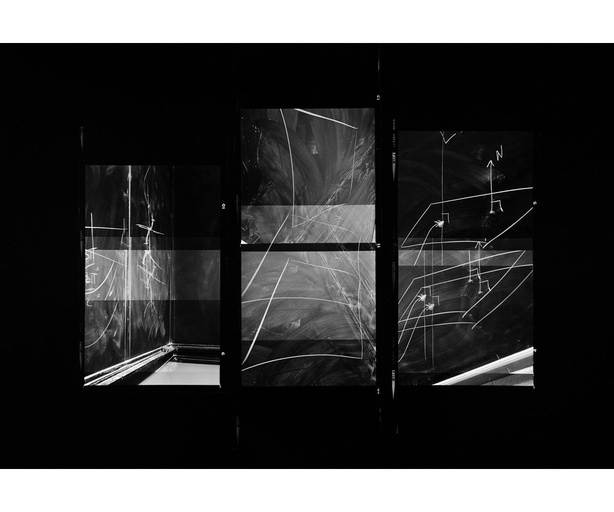 Paul Berger, Mathematics #09, 1976-77, gelatin silver print