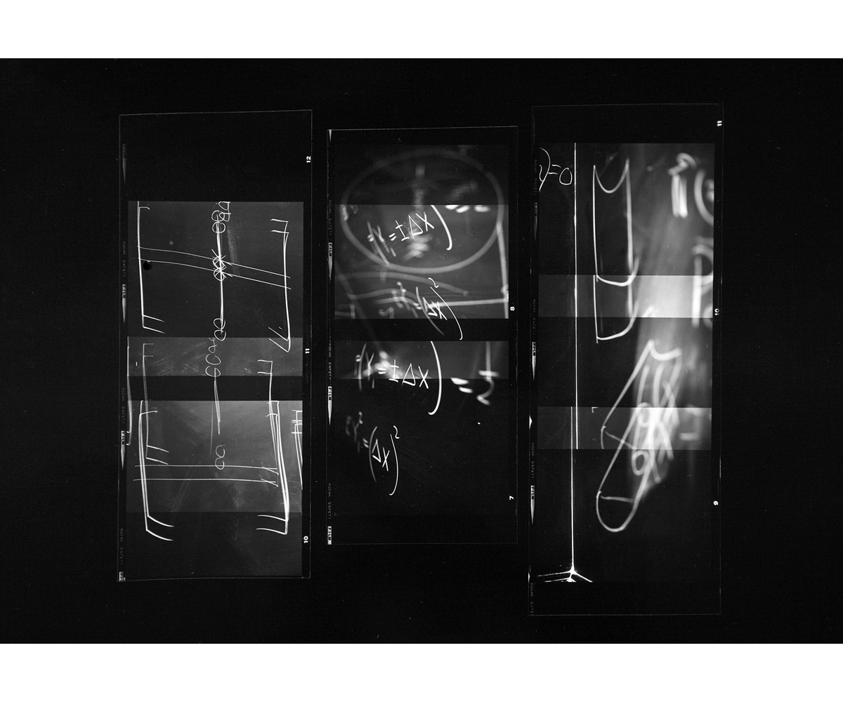 Paul Berger, Mathematics #14, 1976-77, gelatin silver print