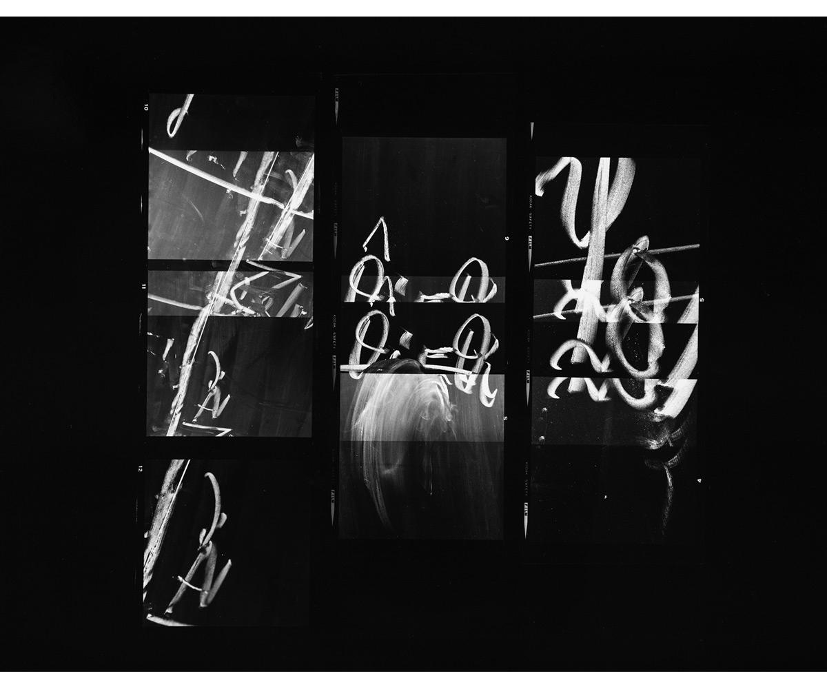 Paul Berger, Mathematics #19, 1976-77, gelatin silver print