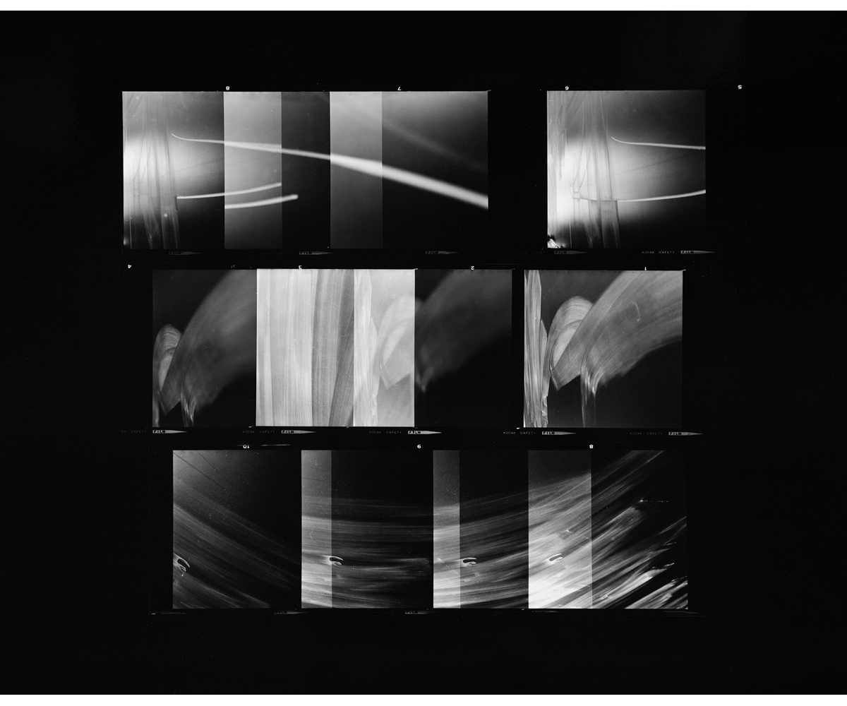 Paul Berger, Mathematics #23, 1976-77, gelatin silver print