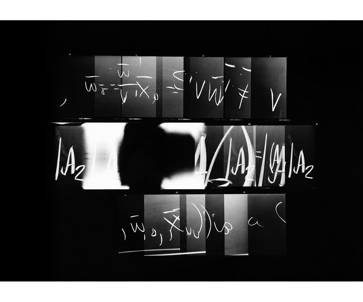 Paul Berger, Mathematics #26, 1976-77, gelatin silver print