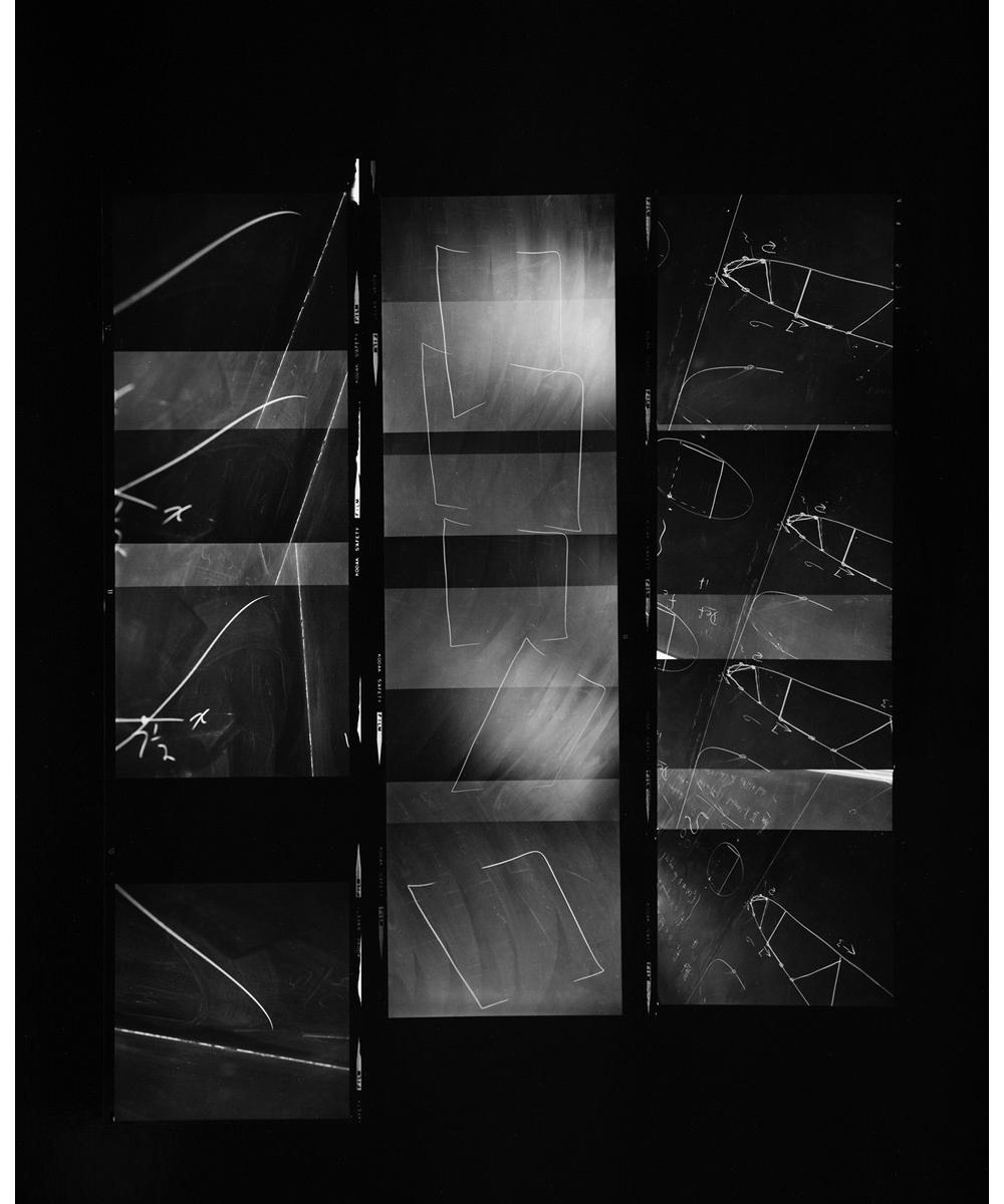 Paul Berger, Mathematics #35, 1976-77, gelatin silver print