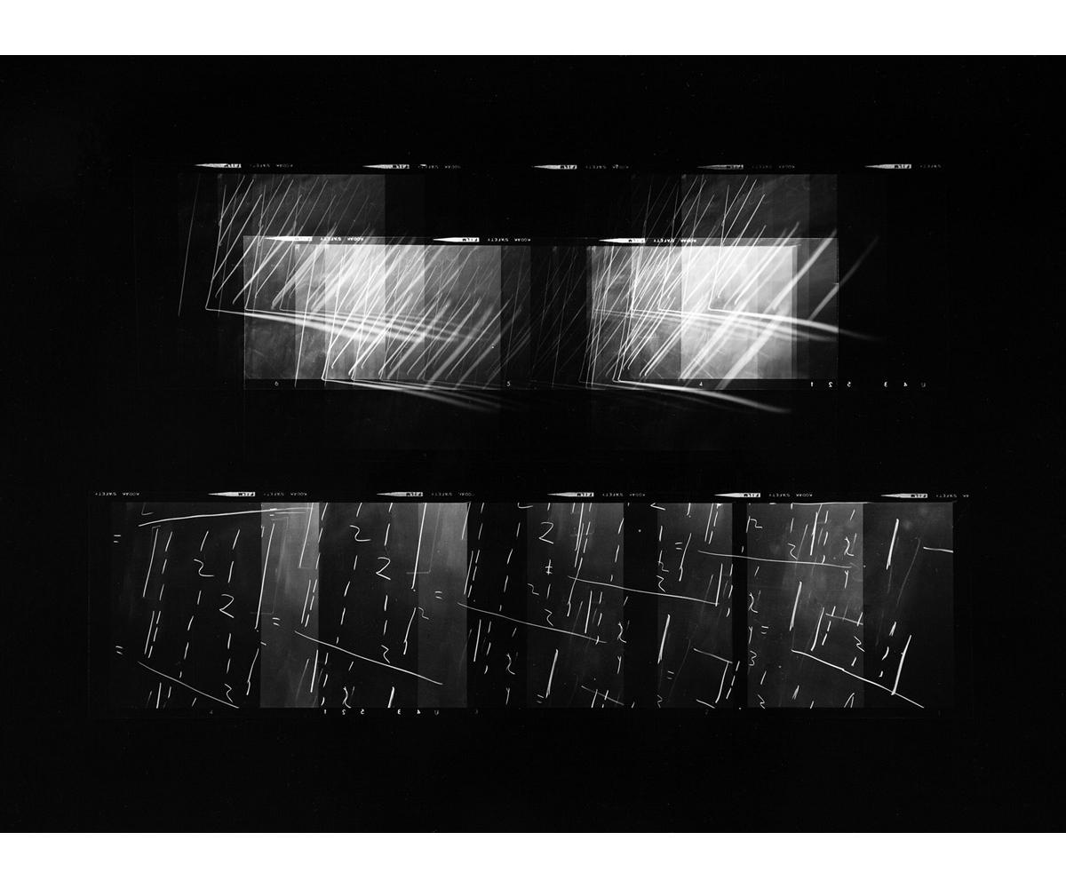 Paul Berger, Mathematics #37, 1976-77, gelatin silver print