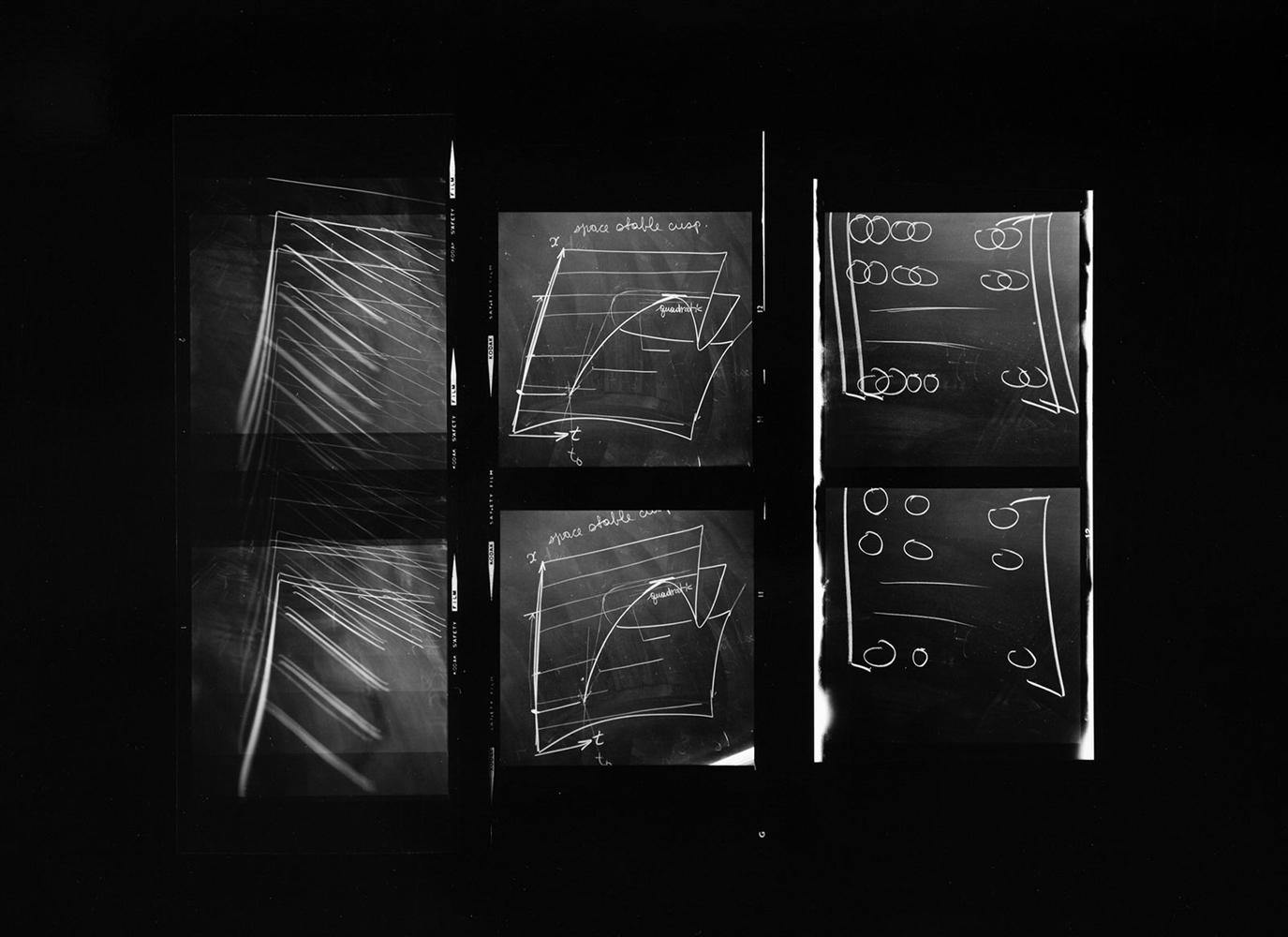 Paul Berger, Mathematics #39, 1976-77, gelatin silver print