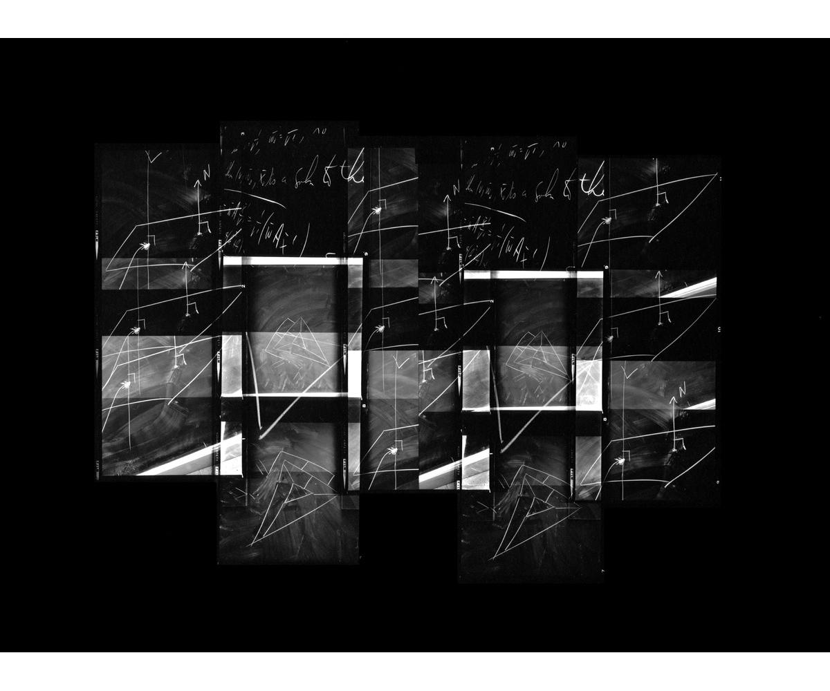 Paul Berger, Mathematics #56, 1976-77, gelatin silver print