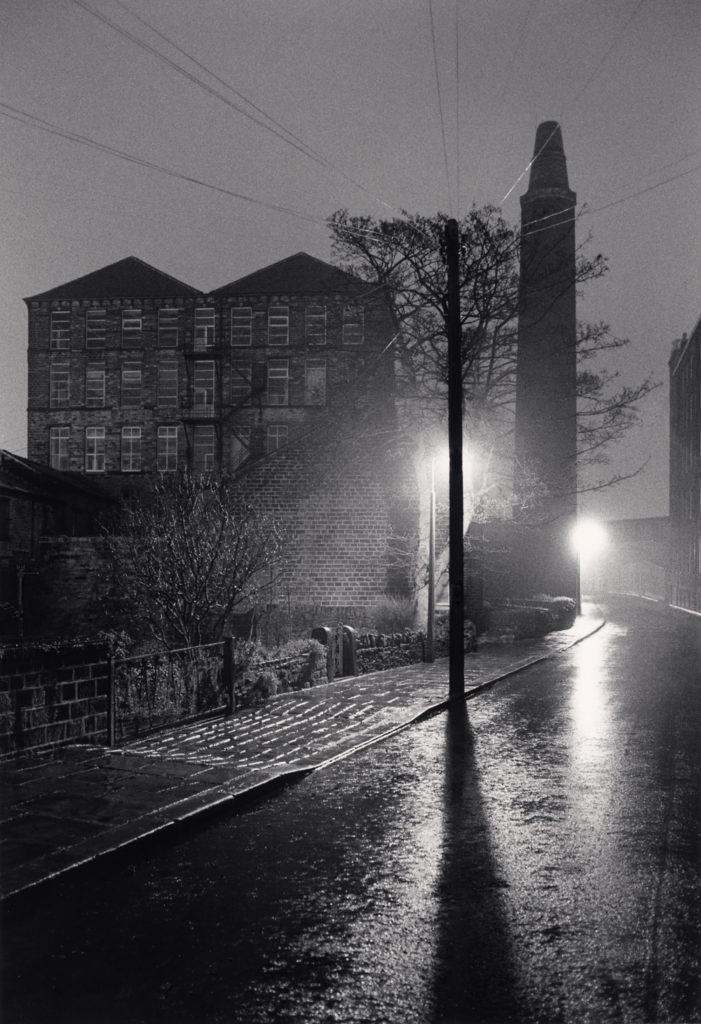 Michael Kenna, Rainy Night Walk, Slaithwaite, West Yorkshire, England, 1984