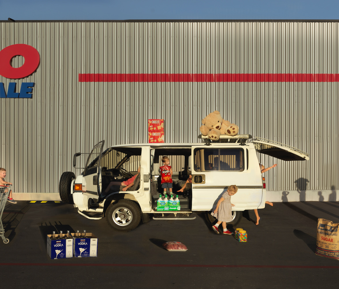 """Julie Blackmon, Costco, 2021, archival pigment print, 26"""" x 30"""", 36"""" x 41"""", 44"""" x 51"""", editions of 7, price on request"""